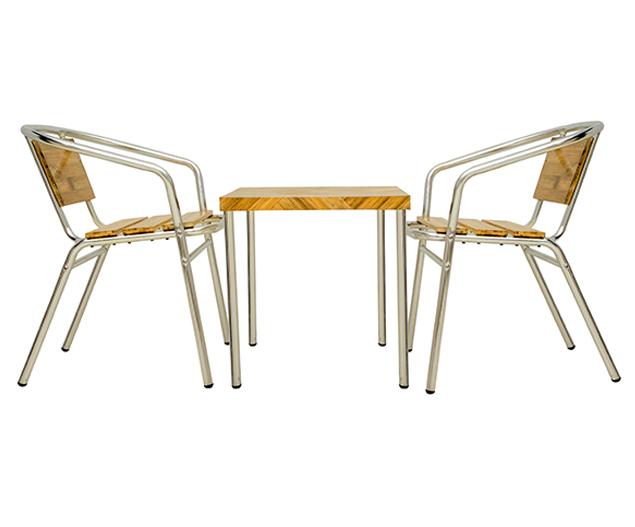 Bamboo Coffee Table Set
